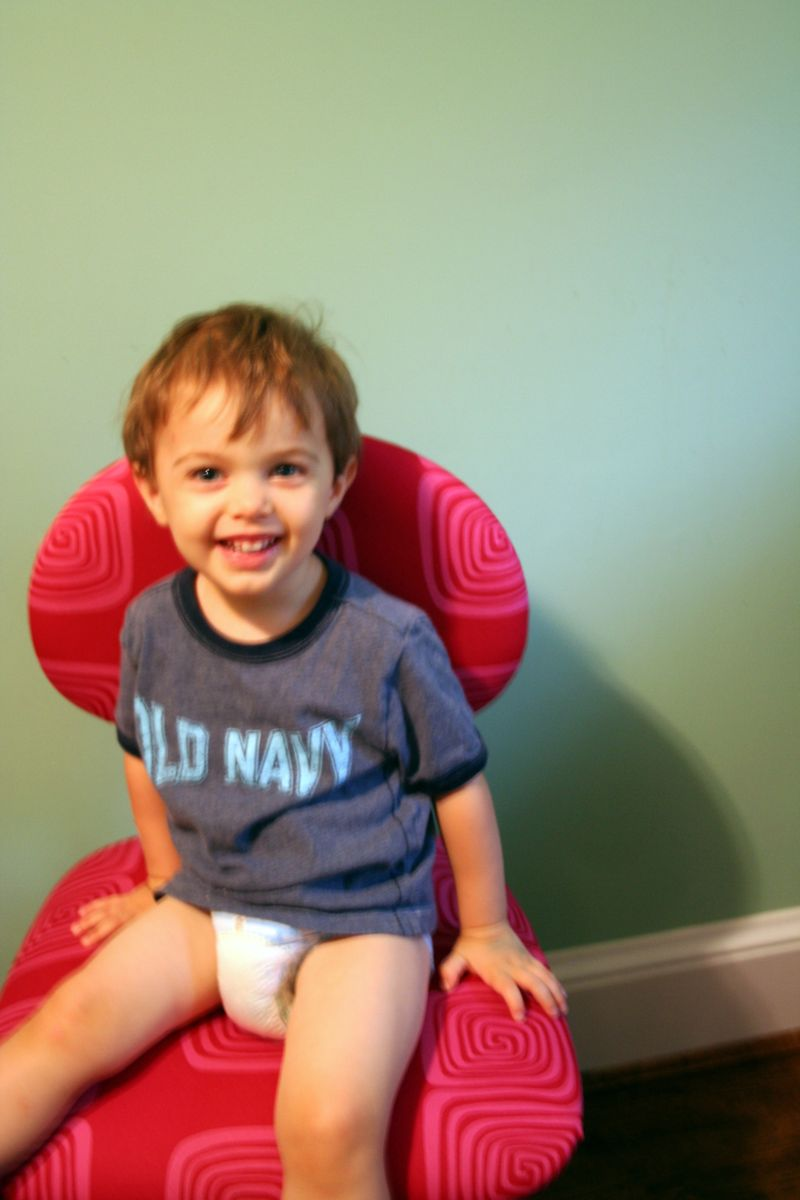 Jack on Chair