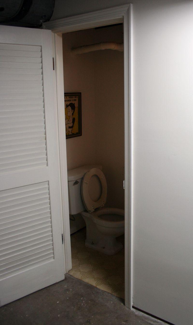 Downstairs Bathroom Before