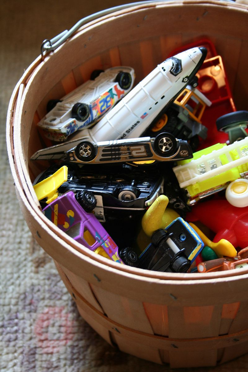 Bucket of cars