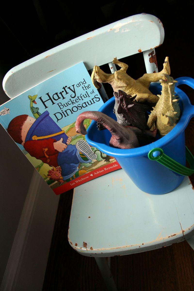 Bucket full of Dinos
