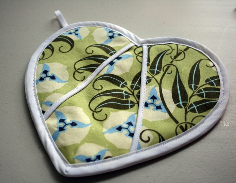 Heart Potholder