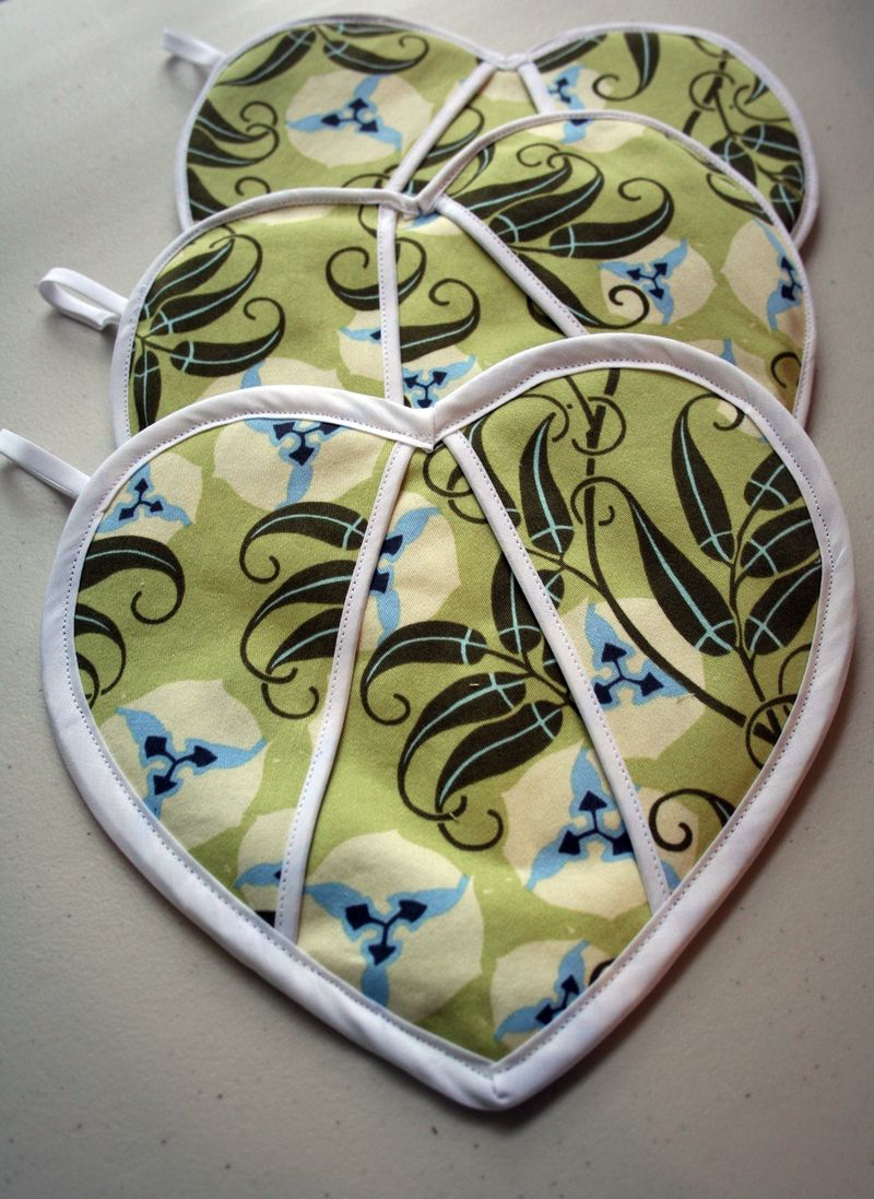 Heart Potholders 3