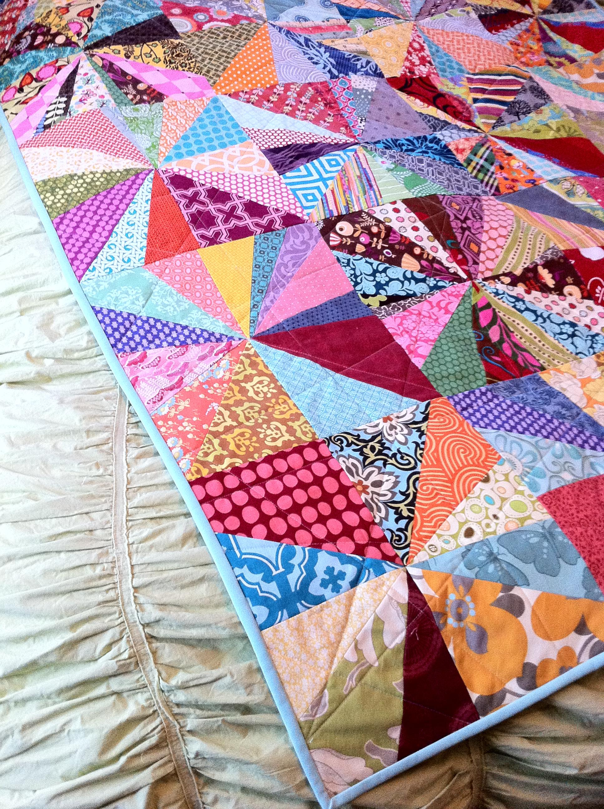 Drop Dead Cute: Finished Starburst Quilt : starburst quilt - Adamdwight.com